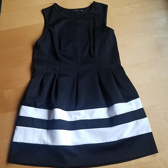 Apt 9 Black And White Dress